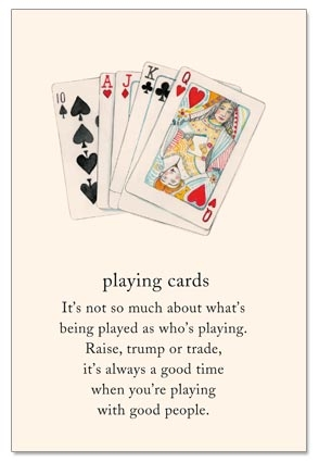 Playing Cards Birthday Cardthartic
