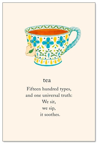 Tea Cardthartic