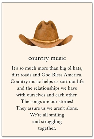 Country Music Cardthartic