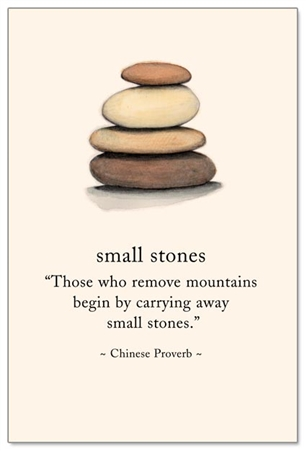small stones cardthartic