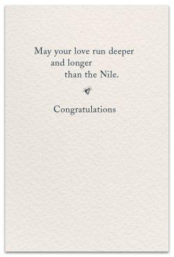 wedding rings card inside message
