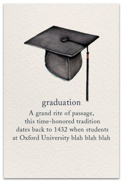 graduation card front