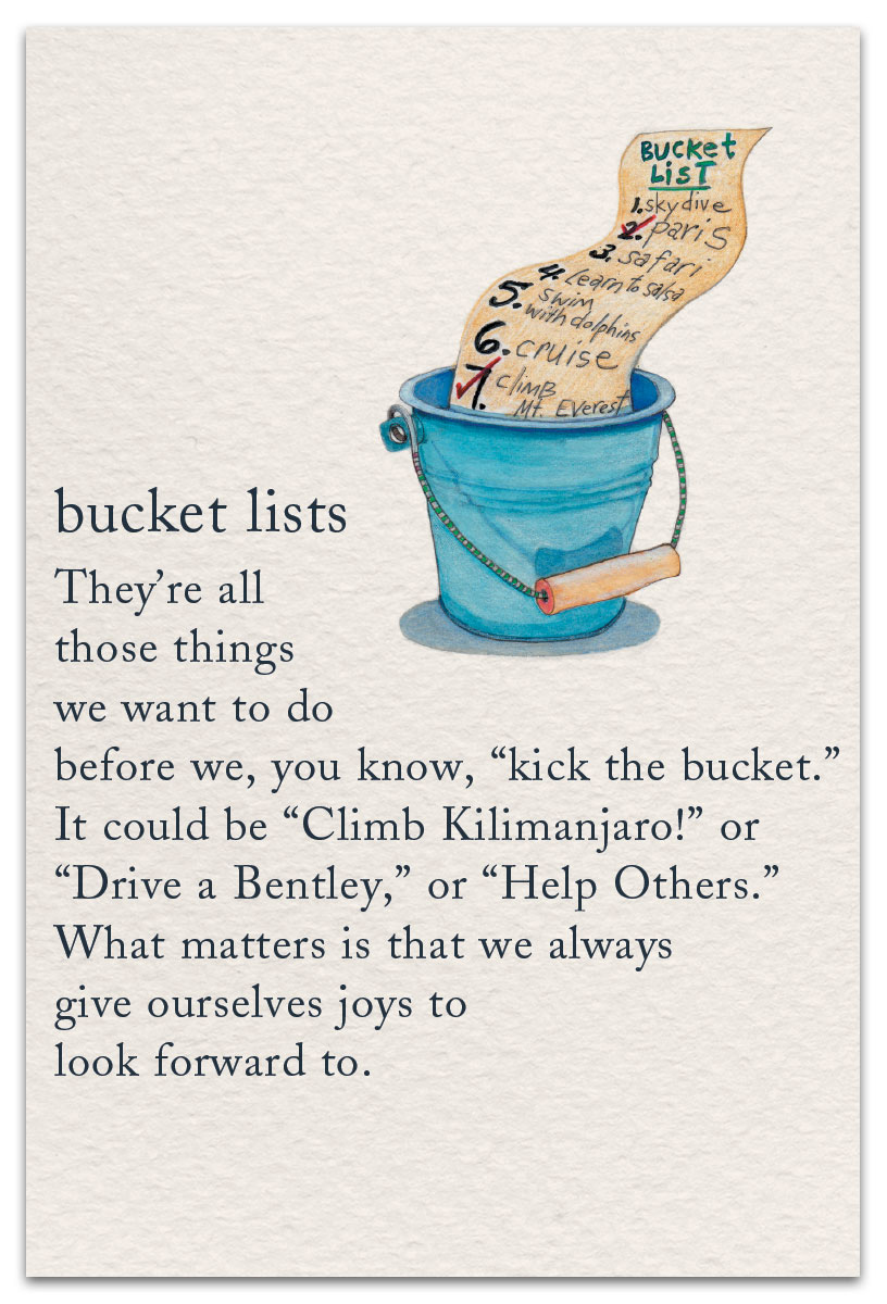 Bucket List | Birthday Card | cardthartic.com Happy Engagement Day Wishes