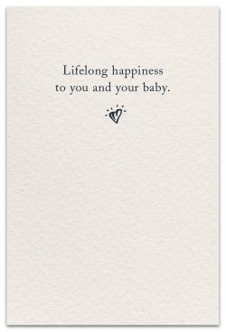 baby booties new child card inside message