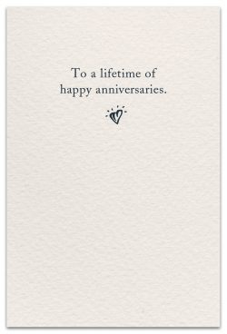anniversaries card inside message