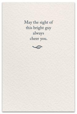 cardinal friendship card inside message