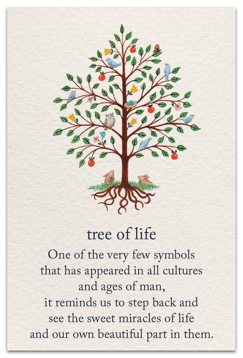 tree of life birthday card