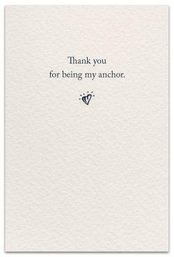 Anchors Friendship Card Inside Message