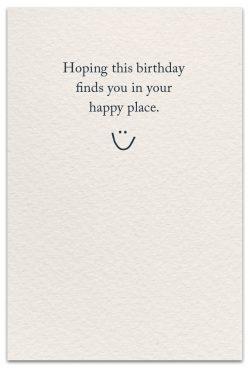seahorses birthday card inside message