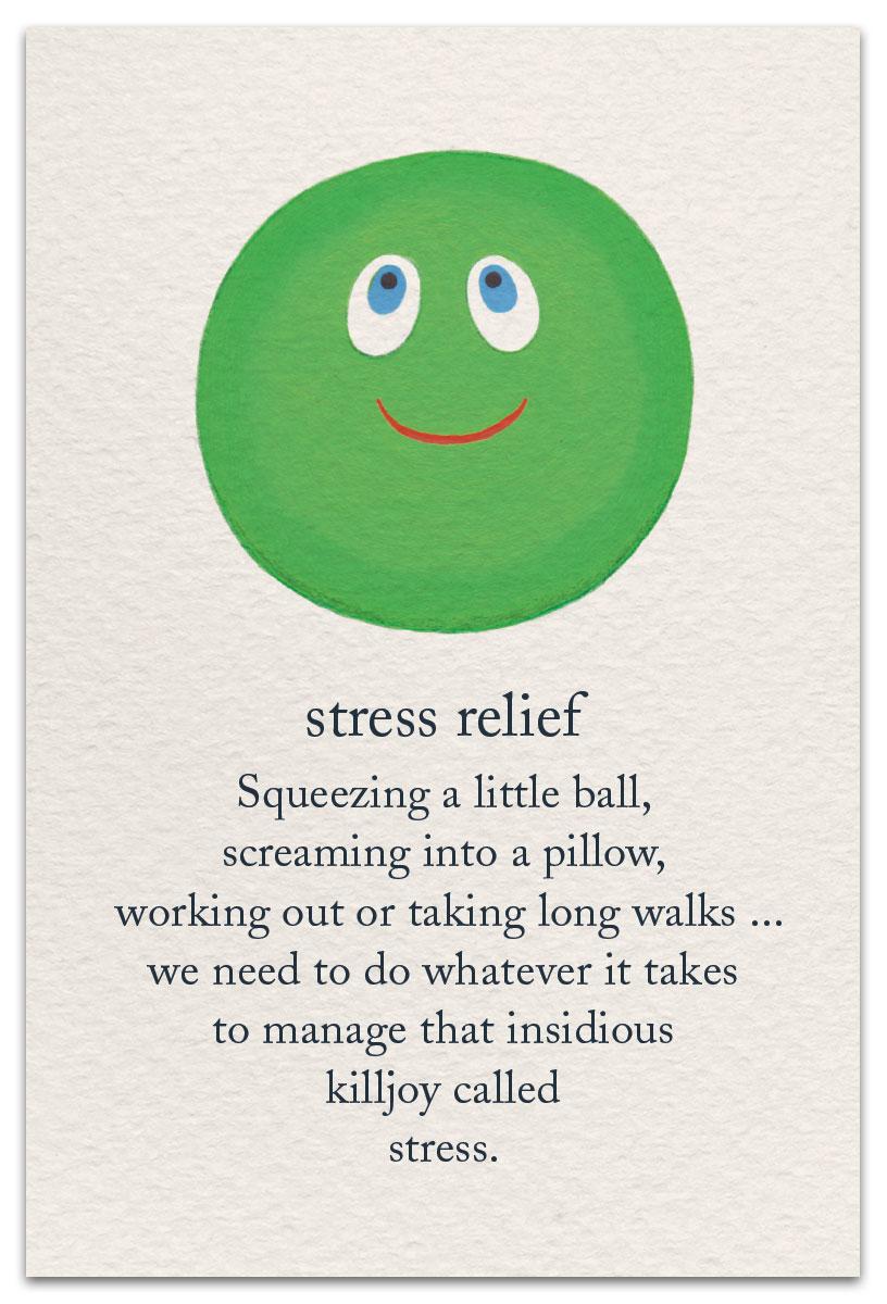 Stress Relief | Support & Encouragement Card | cardthartic.com