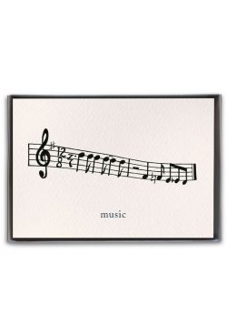 music boxed notes