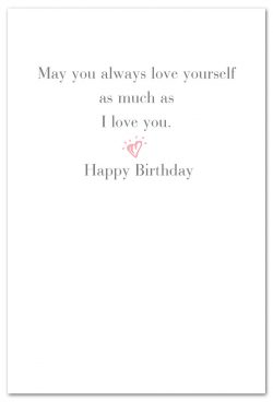 be fabulous birthday card inside message