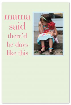 days like these friendship card front