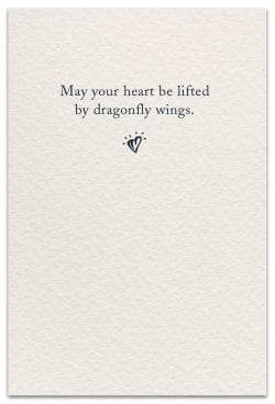 Dragonflies Support & Encouragement Card Inside Message