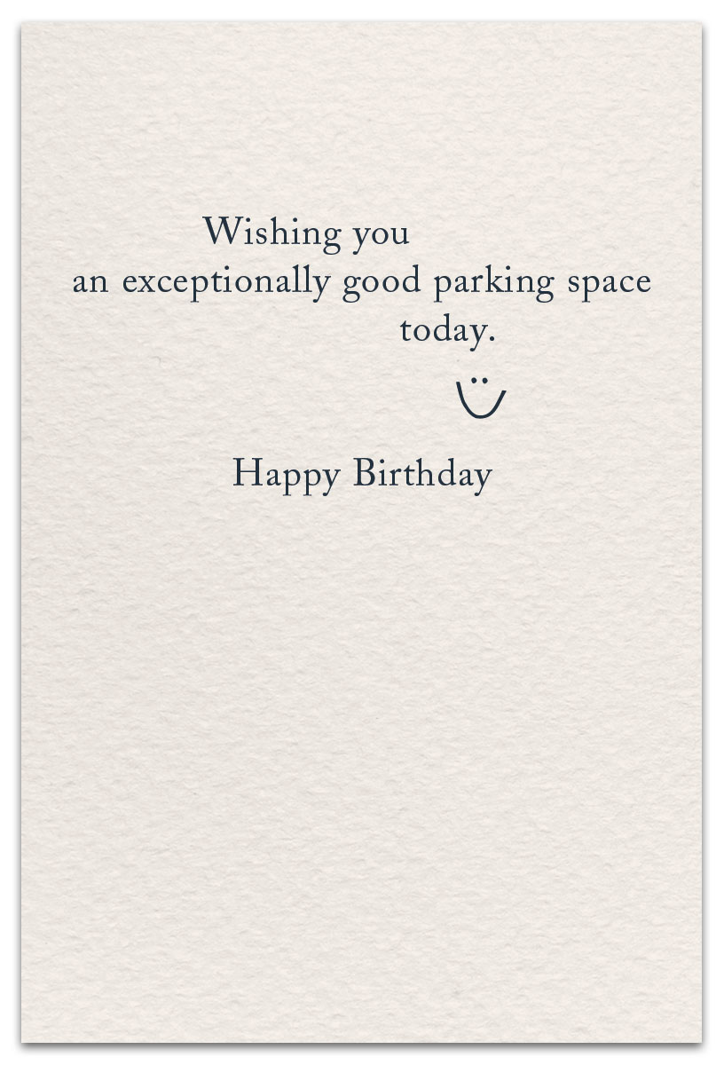 Adirondack Chairs Birthday Card Inside Message