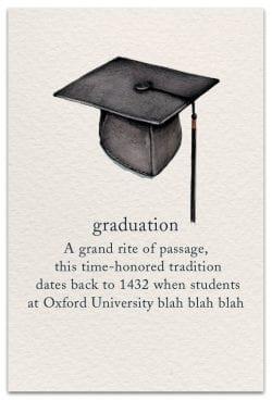 graduation card front