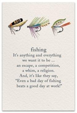 fishing birthday card front