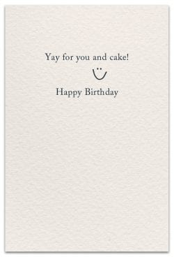 birthdays card inside message