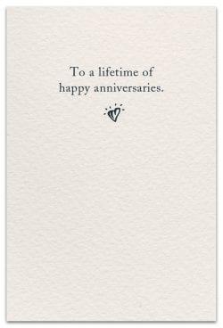anniversaries card inside message