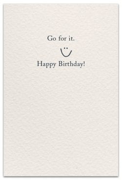 birthday candles card inside message