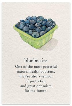 blueberries feel better card front