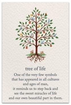 tree of life birthday card front