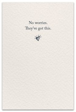 worry dolls support encouragement card inside message