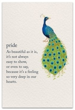 Pride Family Birthday Card Front