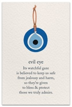 Evil Eye Birthday Card Front