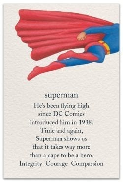 Superman Birthday Card Front