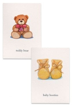 Baby boxed notes collection