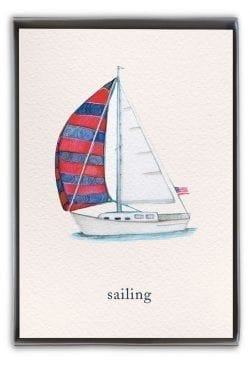 Nautical boxed notes