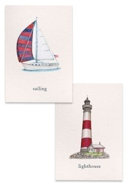 Nautical Boxed notes collection